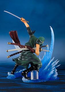 "Figuarts ZERO Chou Gekisen -Extra Battle- Roronoa Zoro -Yakkodori-  de ""One Piece"" - Tamashii Nations"