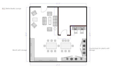 veterans lounge floor plan