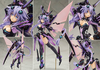 Purple Heart da Hyper Dimension Neptunia della Alter