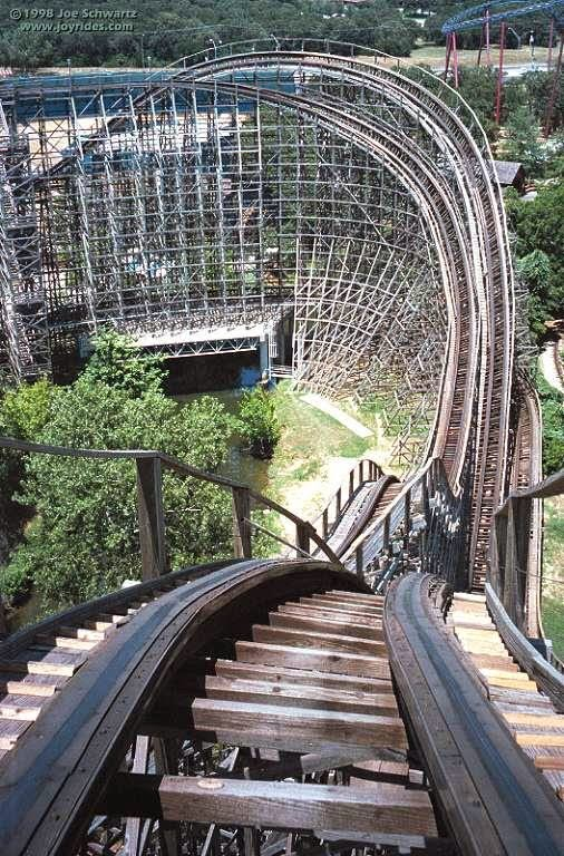 10 Amazing & Scariest Rollercoasters in the World | Texas Giant, Six Flags Over Texas, Arlington, Texas, USA