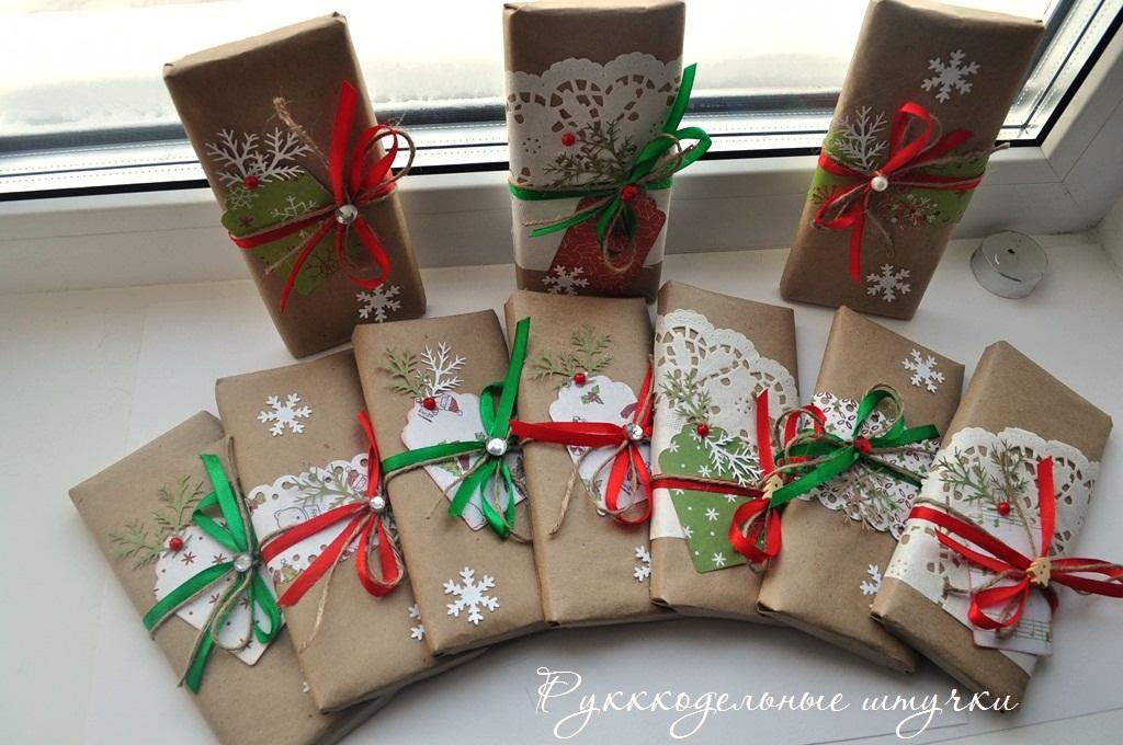 Новогодние подарки своими руками на 2017 год