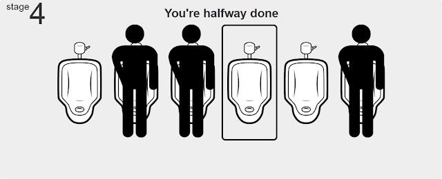 Urinalman urinal etiquette 3