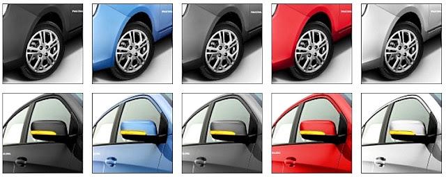 Proton Saga Baru 2016/2017 - pilihan warna