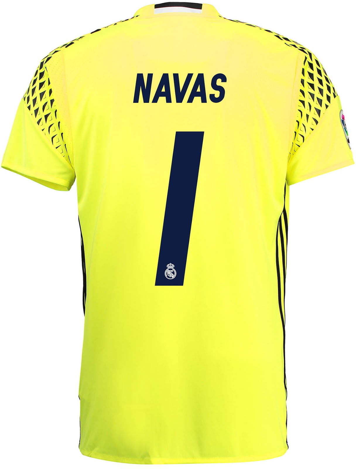 also based on the adidas onore 16 goalkeeper teamwear jersey the real madrid 2016 17 goalkeeper home jersey is yellow and black - Yellow Home 2016