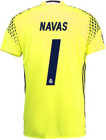 69f8a5181d0be Éstas son las nuevas camisetas de portero del Real Madrid 16-17