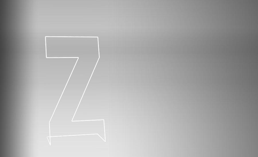 Moderno galán con forma de Z.