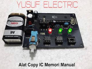 Alat Copy IC Memori Versi Manual