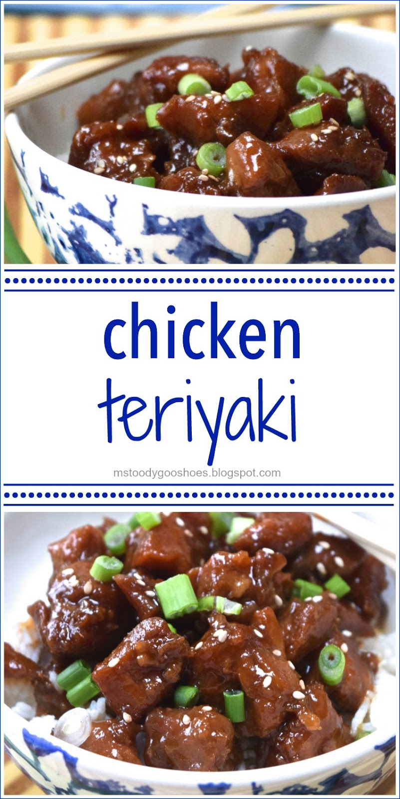 Chicken Teriyaki: Super-easy to  make. This has become one of my favorite recipes! | Ms. Toody Goo Shoes #buzzfeedfood #recipes