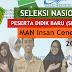 Pengumunan Hasil SNPDB MAN Insan Cendekia dan MAN PK Tahun Pelajaran 2018-2019