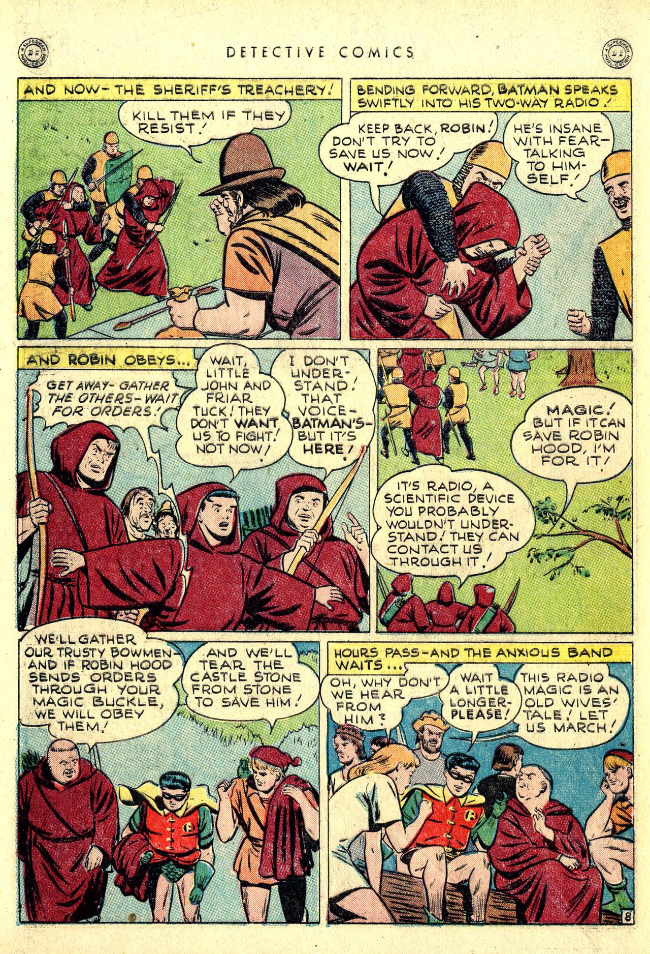 Read online Detective Comics (1937) comic -  Issue #116 - 10
