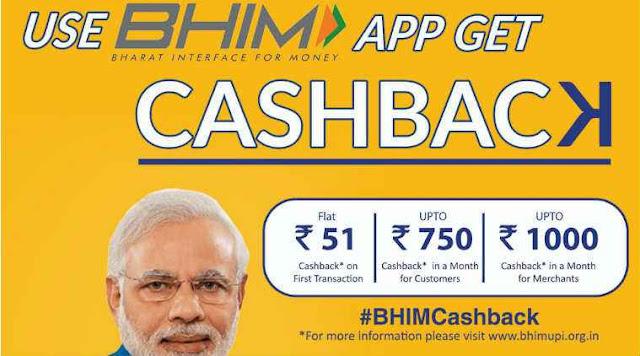 Bhim Cash Back
