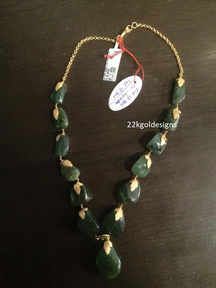 Emerald Mala design