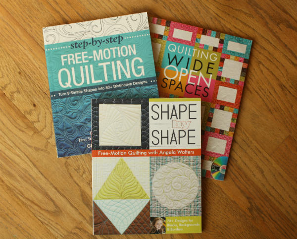 Free motion quilting books | DevotedQuilter.blogspot.com