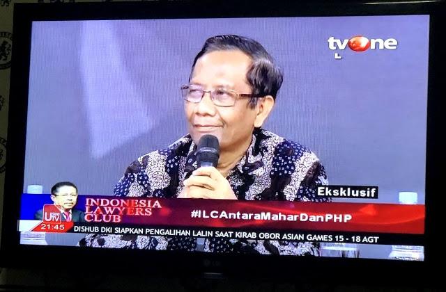 GEGER!!! BLAK-BLAKAN di ILC Prof. Mahfud MD Bongkar Intrik Pemilihan Cawapres di Kubu Jokowi