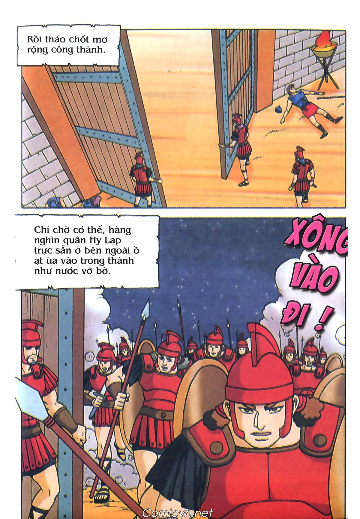 Thần Thoại Hy Lạp Màu - Chapter 69: Thành Troy thất thủ - Pic 7