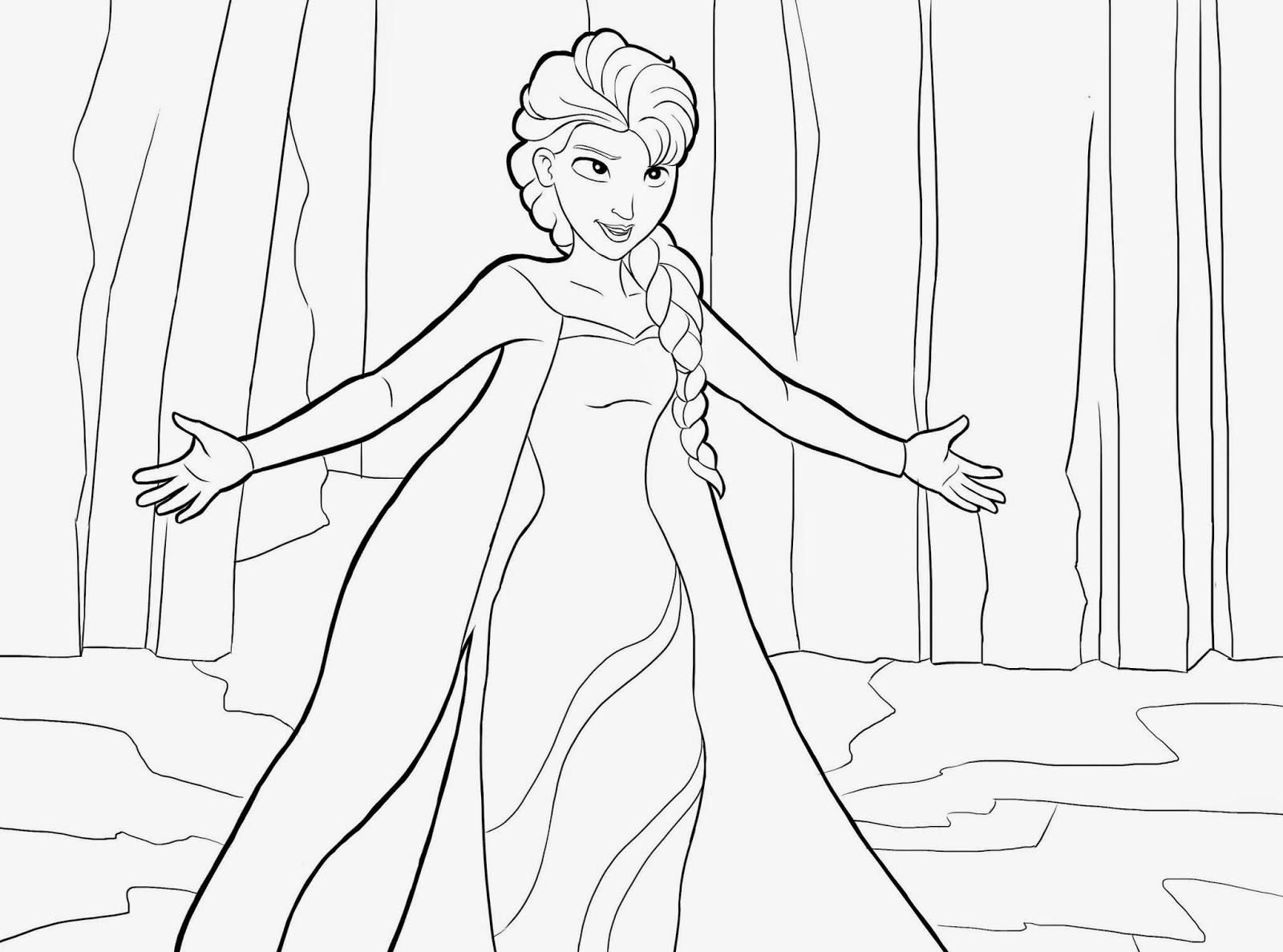 Ausmalbilder Disney Frozen Eiskönigin Ausmalbilderhq