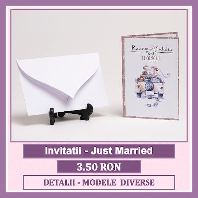 http://www.bebestudio11.com/2018/03/invitatii-nunta-just-married.html