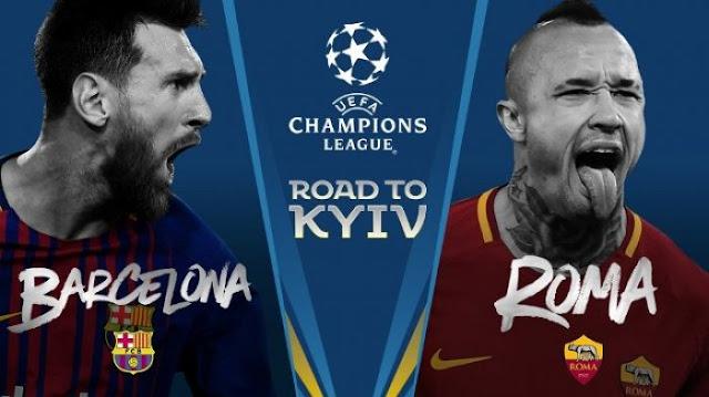 Prediksi Barcelona vs AS Roma Liga Champions