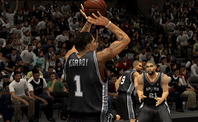 NBA 2K13 Update Tracy Mcgrady Spurs Roster