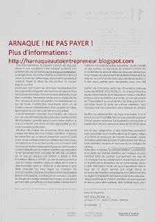 CGV - France Annuaire - Registre Renseignement Commercial