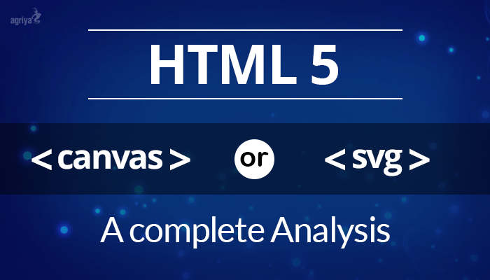 HTML5 - Canvas vs SVG