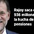 Rajoy saca otros 936 millones de la hucha de las pensiones