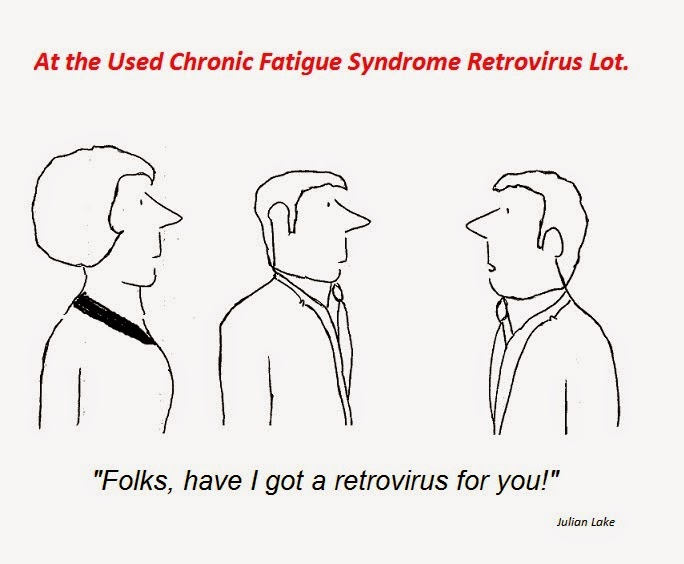 cartoon, xmrv, retrovirus, mikovits, cfs, chronic fatigue syndrome, hhv-6