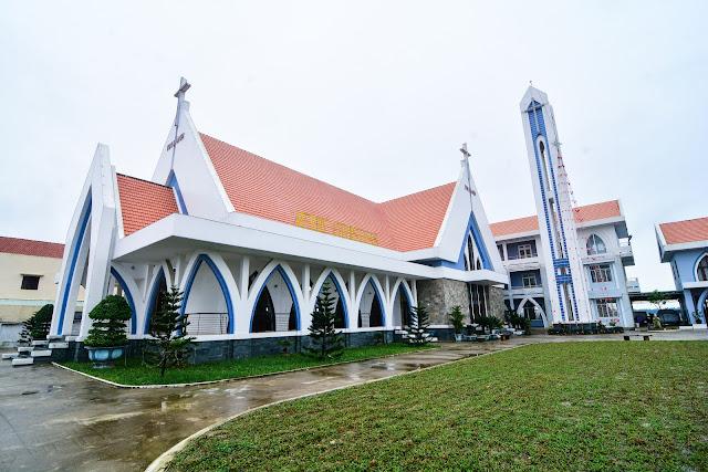 Ảnh kiến trúc nhà thờ ở Quảng Nam, Đà Nẵng