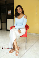 Anisha Ambrose Latest Pos Skirt at Fashion Designer Son of Ladies Tailor Movie Interview .COM 0989.JPG