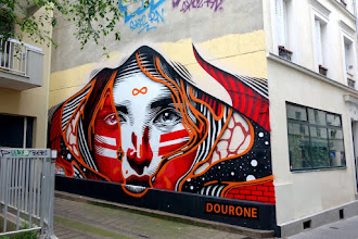 Sunday Street Art : Dourone - rue Sainte-Marthe - Paris 10