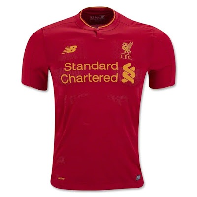 Jual Jersey Liverpool Home 2016/2017 Grade Ori
