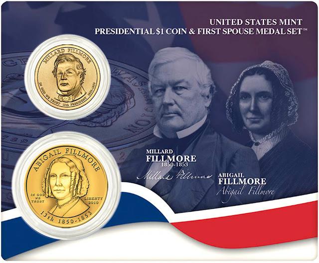 President Millard Fillmore & First Spouse Abigail Fillmore