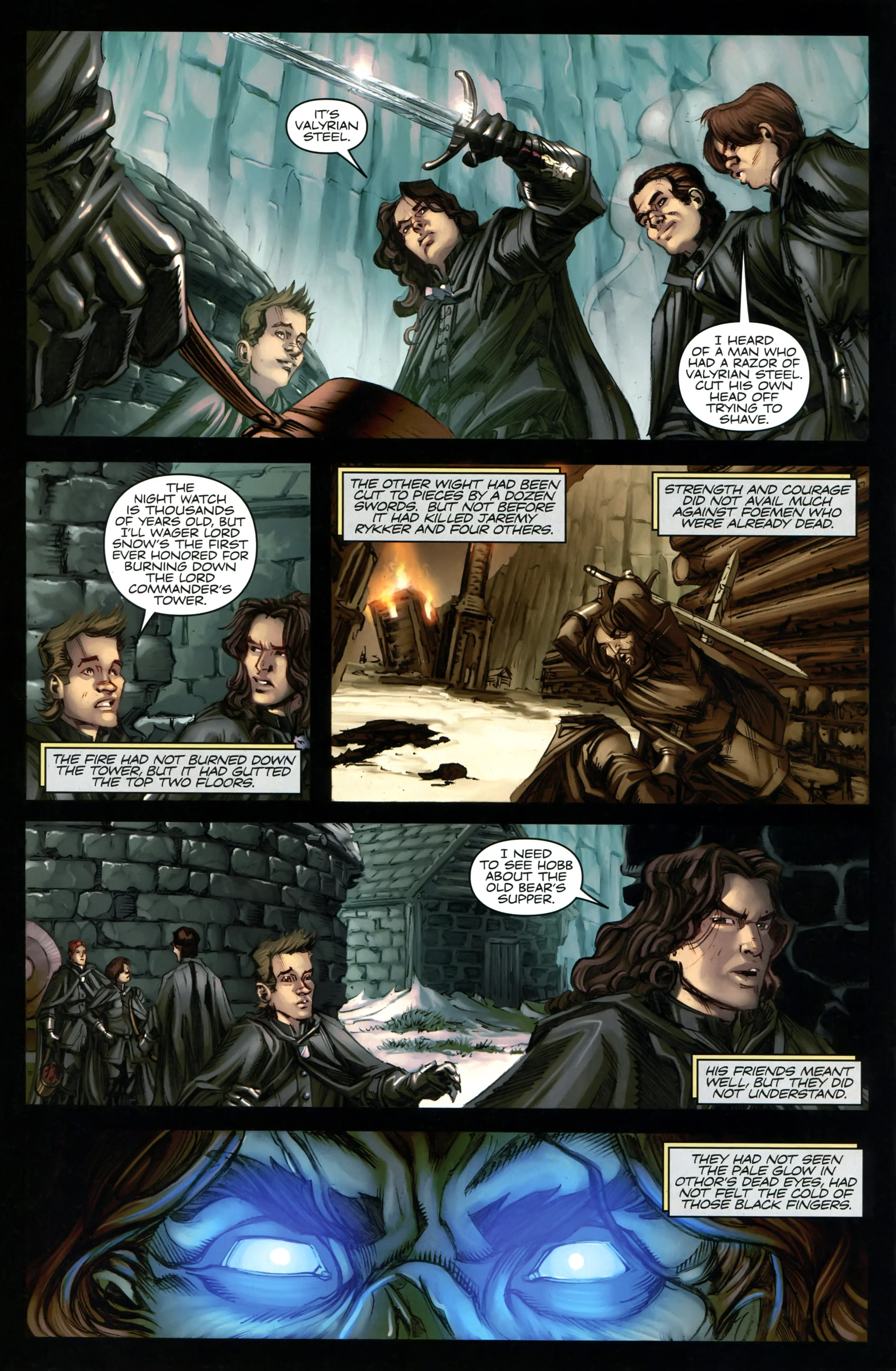 Read online A Game Of Thrones comic -  Issue #20 - 26