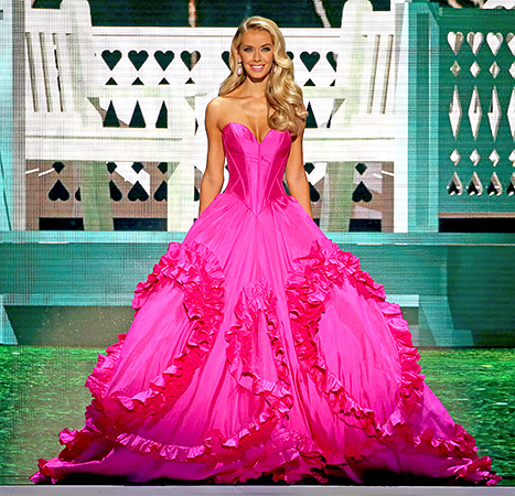 Miss USA 2015 Olivia Jordan stunned in the Evening Gown Round