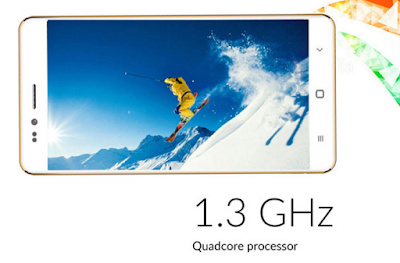 Freedom 251 with 1.3 GHz quad core processor