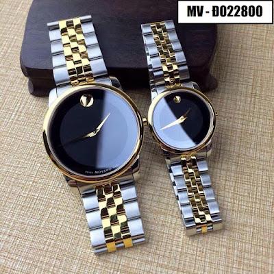 Đồng hồ cặp đôi Movado Đ022800