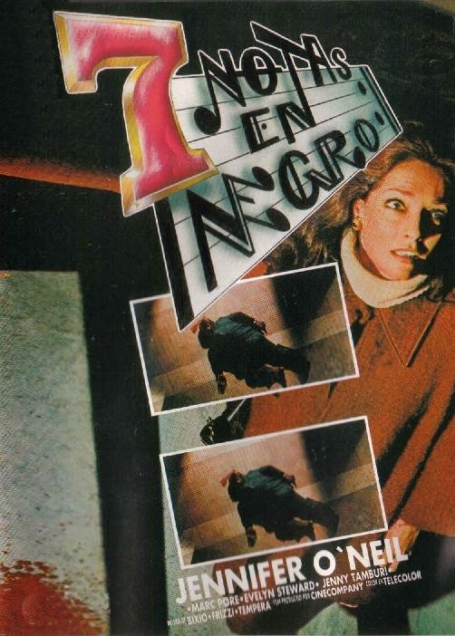 Siete Notas en Negro (1977)