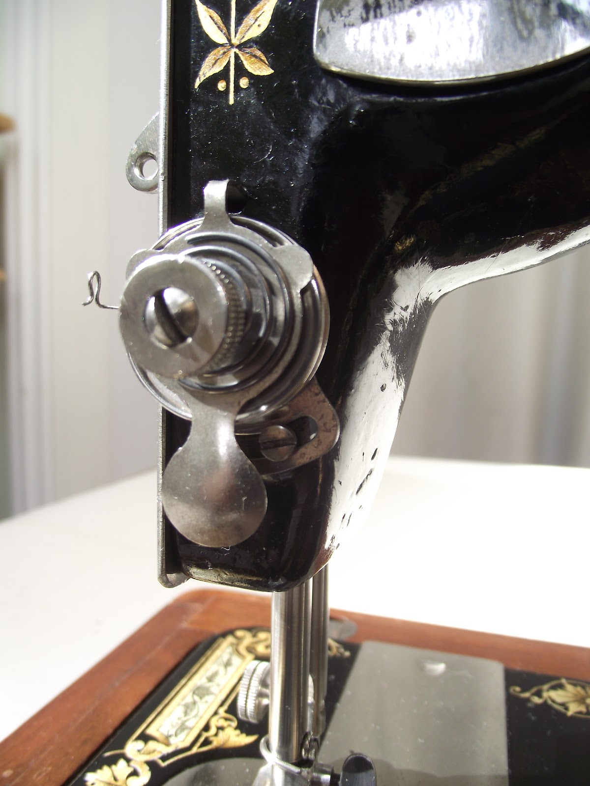Tension Discs Sewing Machine : tension, discs, sewing, machine, Nähmaschinen, Haushaltsgeräte, VINTAGE, SINGER, SEWING, MACHINE, TENSION, CHECK, SPRING, 27K/28K/127K/128K, Mc-mgmt.com