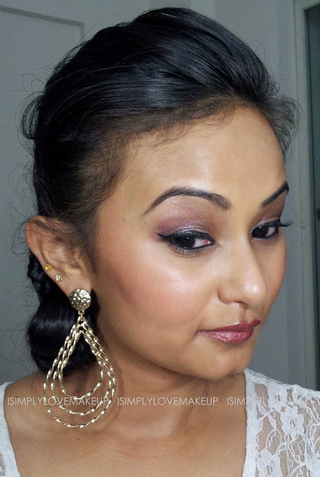 Bollywood Inspired Makeup Series (1950s): L'Or Sunset ...  Bollywood Inspi...