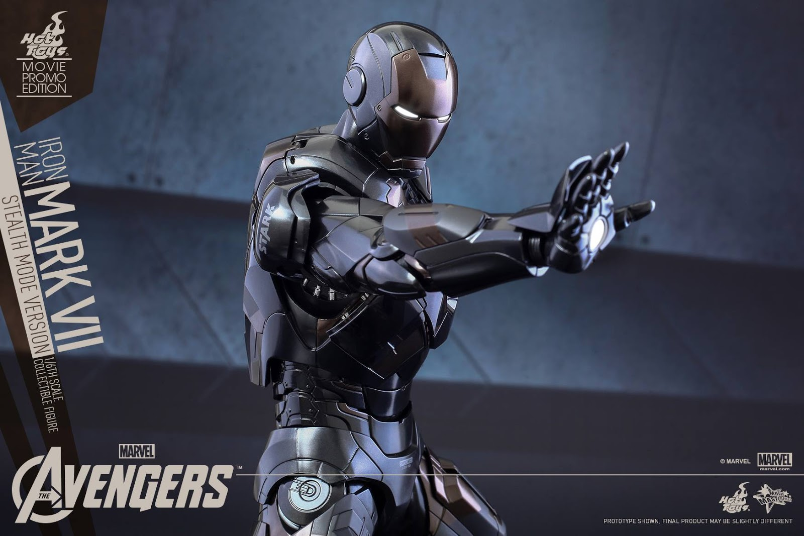 The Avengers: 1/6th scale Mark VII (Stealth Mode Version) WOLVERINE