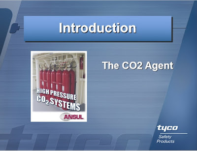 TYCO CO2 fire suppression system,total flooding