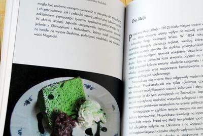 Ciasto z zieloną herbatą matcha