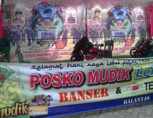 GP Ansor Dirikan 604 Posko Mudik di Seluruh Indonesia, Ini Sebarannya