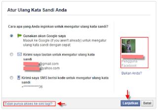 Cara Membuka Facebook Yang Lupa Kata Sandi Lewat Hp