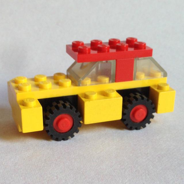 Lego 1606 - kisautó 1.