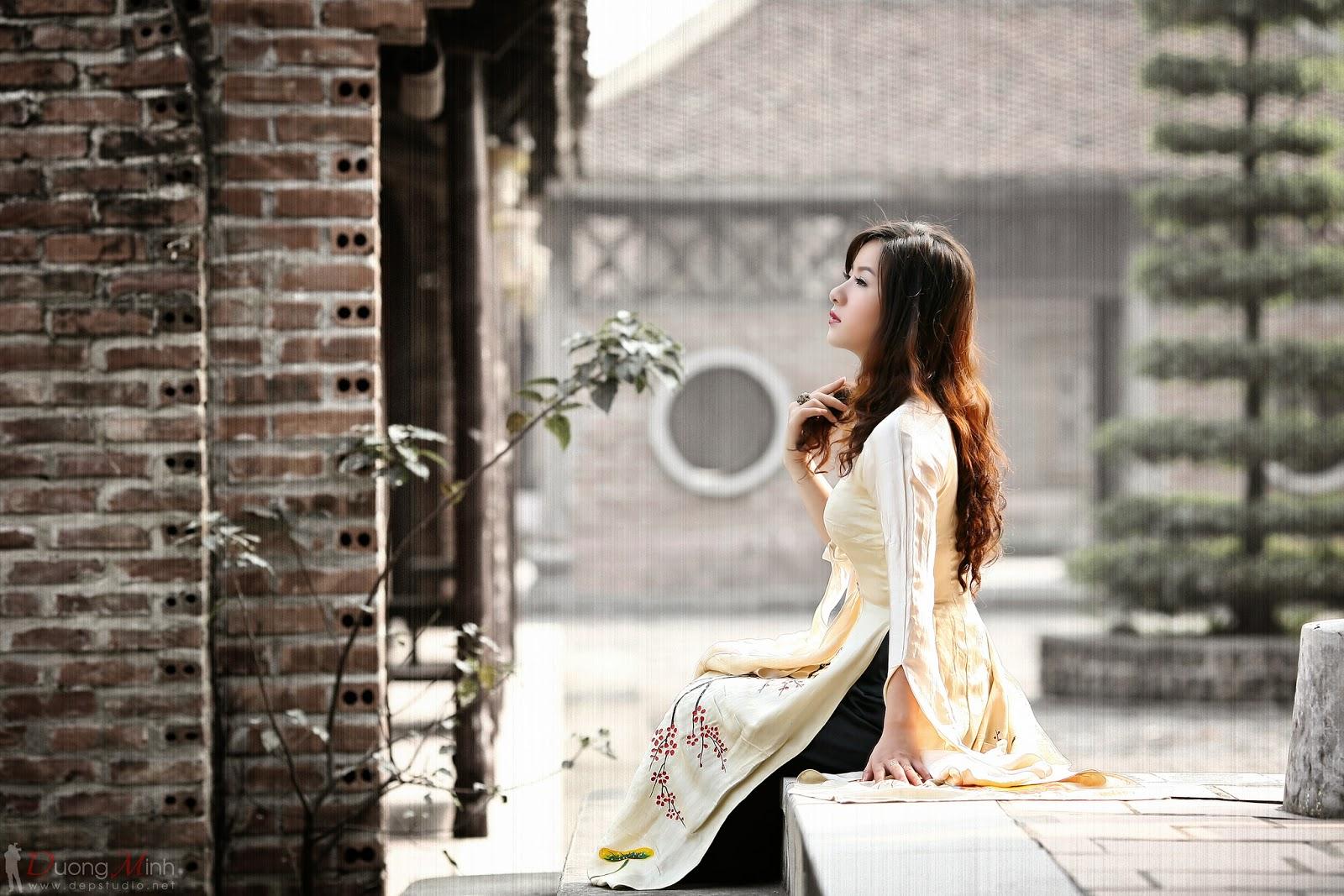 Ảnh đẹp girl xinh Áo dài truyền thống Việt Nam - Ảnh 27