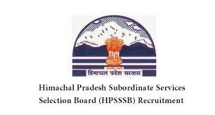 HPSSSB Recruitment 2018 - Teacher, Assistant, Engineer (1089 Vacancies)  Apply Online
