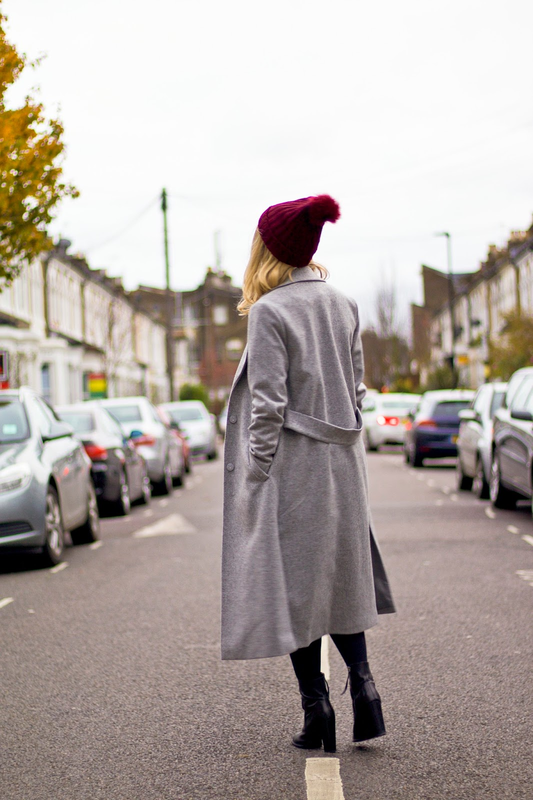 Missguided hat New Look Coat Topshop top Topshop skirt ASOS Boots