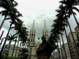Corredor de Palmeiras na Catedral da Sé