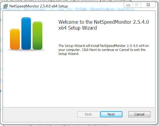 Display Internet Speed on Windows